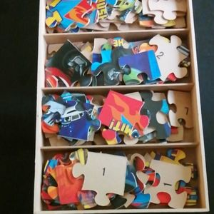 Blaze and the monster machines puzzles
